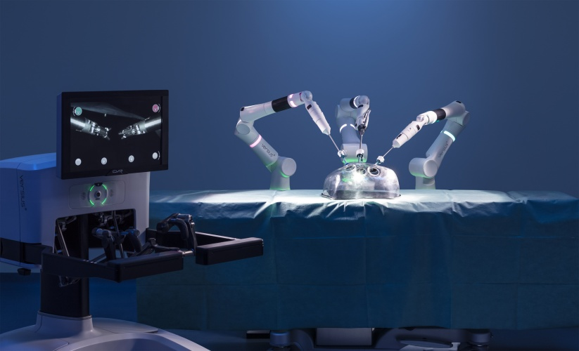 Versius surgical robot used on first NHS patients