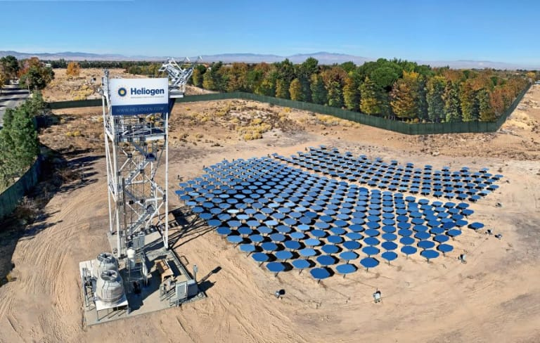 Bill Gates-backed Heliogen targets 1 500°C solar thermal