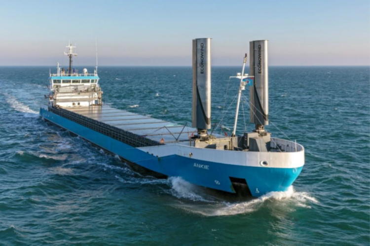 Ventifoil wind-assist gets first commercial installation