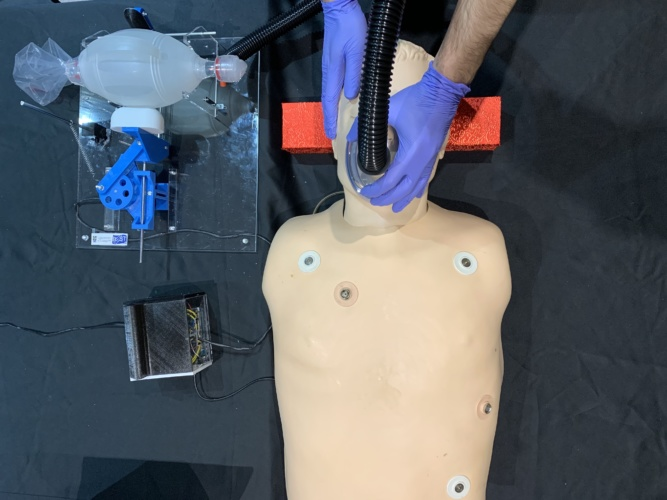 low-cost ventilator