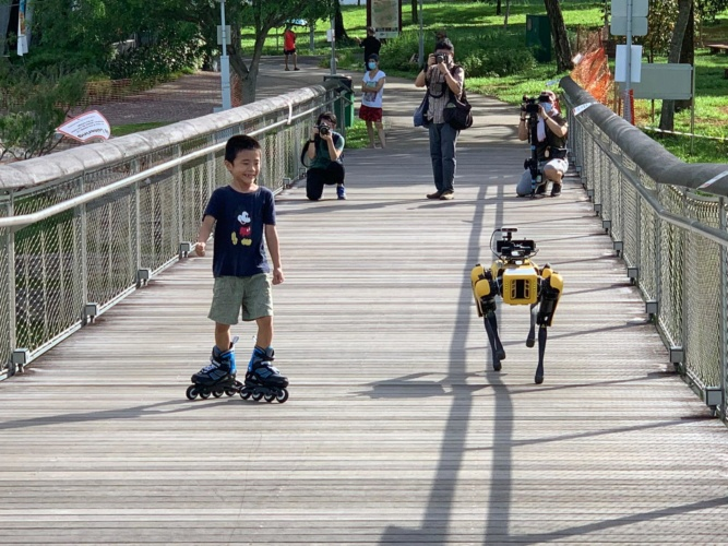 Covid robots