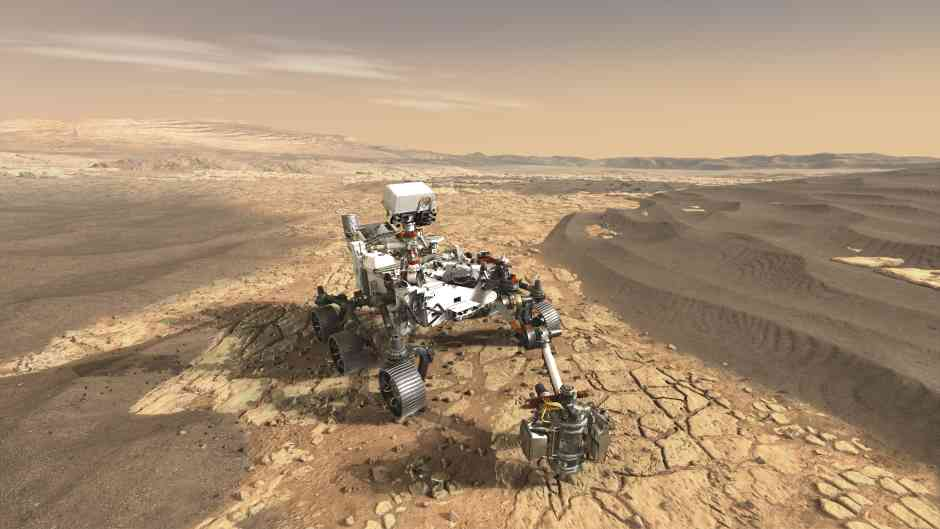 Mars Perseverance: the technology behind the rover on a mission | The Engineer