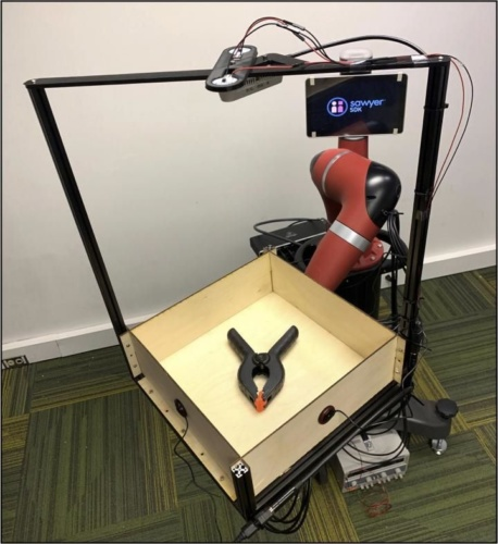 Robot perception enhanced with hearing