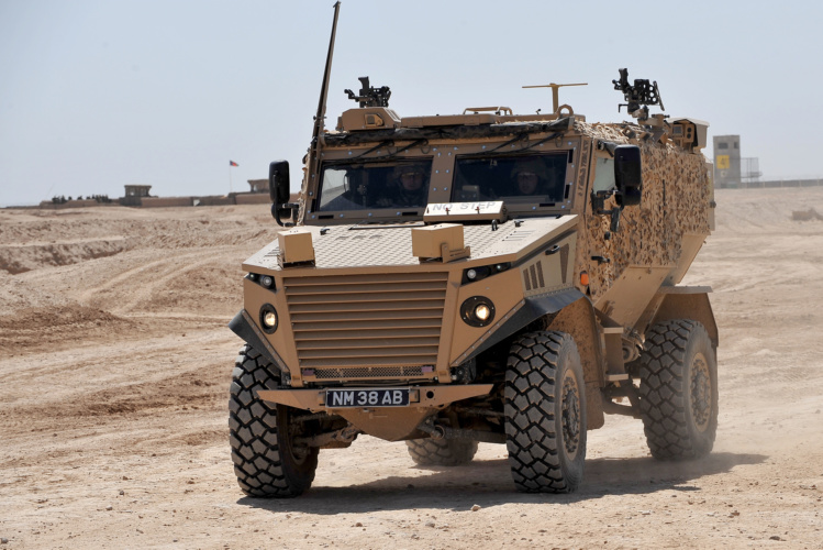hybrid armoured vehicles