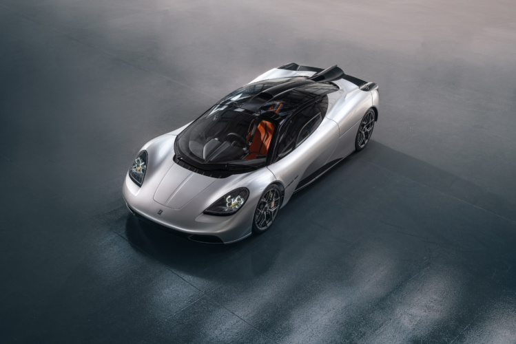 Gordon Murray unveils T.50 supercar