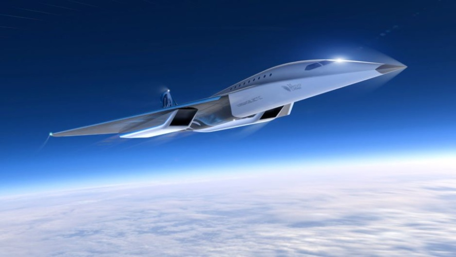 Virgin Galactic takes off with Mach 3 passenger aircraft design