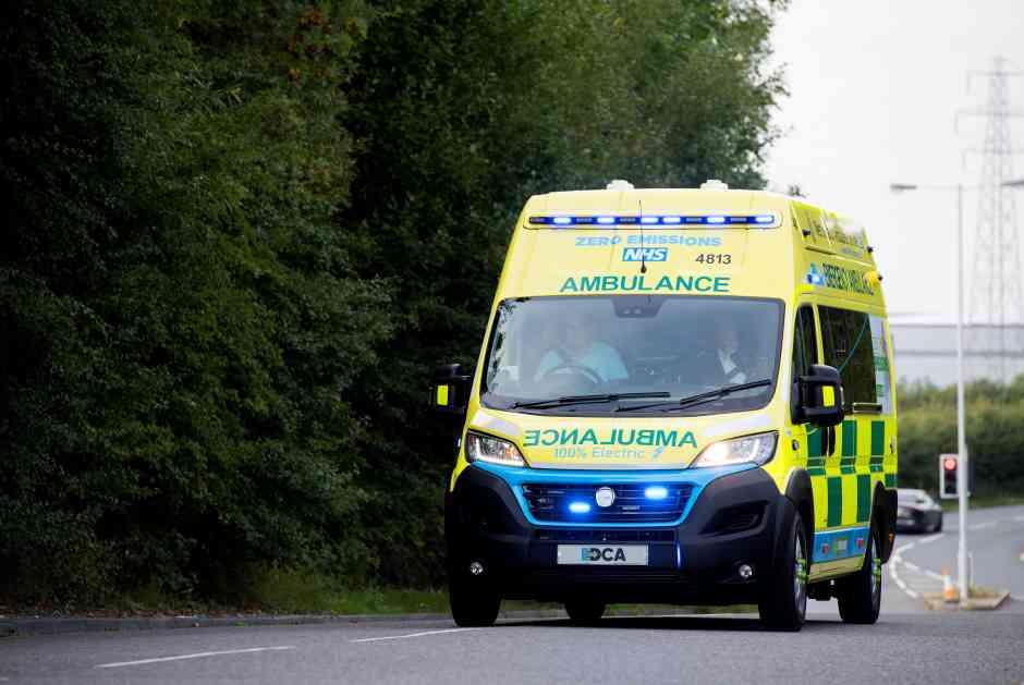 all-electric ambulance