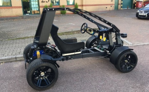3d printed vehicle