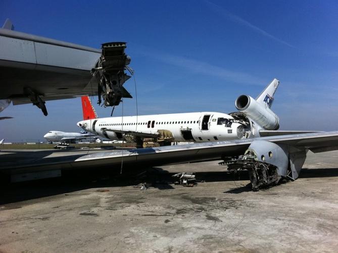 aircraft graveyards
