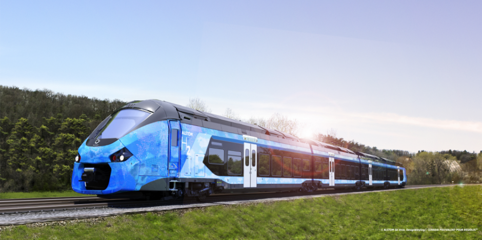 SNCF signs with Alstom for hydrogen trains