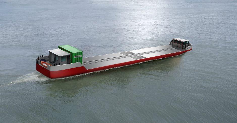 Seine set for world's first hydrogen powered cargo deliveries