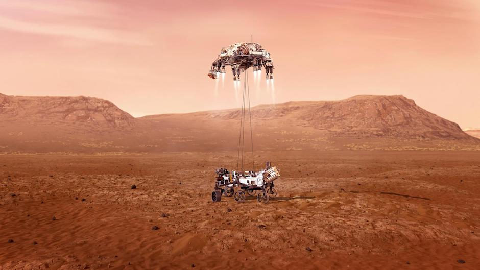 Touchdown on Mars for Thales SuperCam