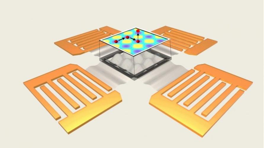 acoustoelectronic nanotweezers
