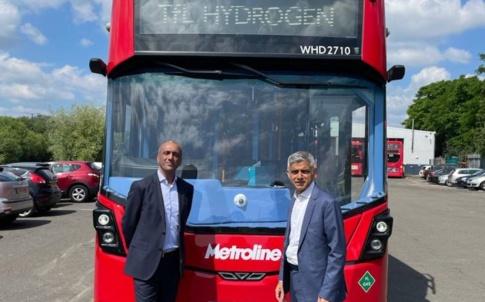 hydrogen buses