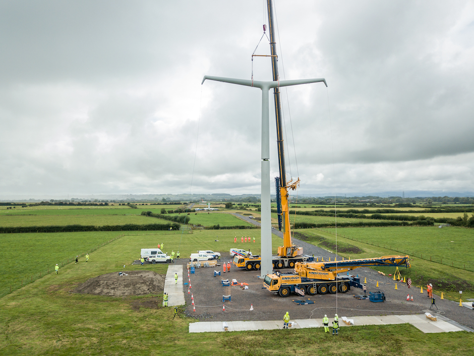 Nationwide Grid builds first T-Pylon in Somerset