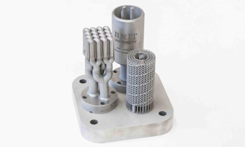 3D printed catalysts
