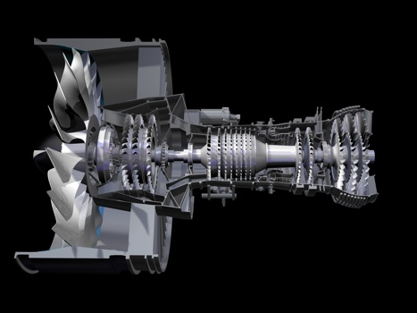 The new engine, which will make its commercial debut on the Mitsubishi regional jet and Bombardier's C-Series, is the world's first commercial geared turbofan.