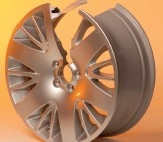 Friction stir welded wheel
