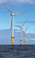 North Hoyle was the UK's first large-scale offshore wind farm