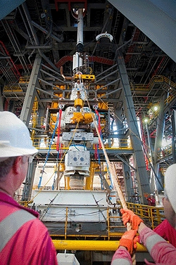 The Capping Stack BOP is skidded onboard the Transocean Discoverer Inspiration to mate with the Vetco and EDS Control panel on top of the moon pool July 09, 2010