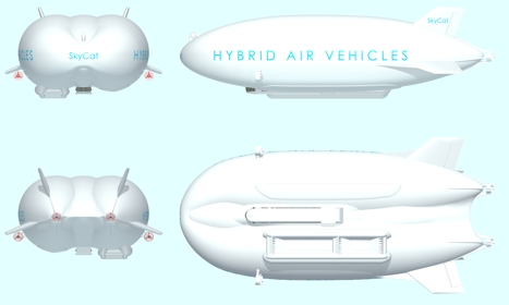LEMV will be heavily based on the UK-designed Sky Cat hybrid air vehicle