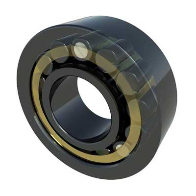 The support roller in the inner bore of the tube roller has a slight clearance to ensure that the roller is less rigid (more flexible) at higher loads. At the same time, this also prevents excessive deflection of the tube roller. Together, the tube roller