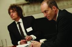 L to R: Jason Aldridge, Andrew Bromley