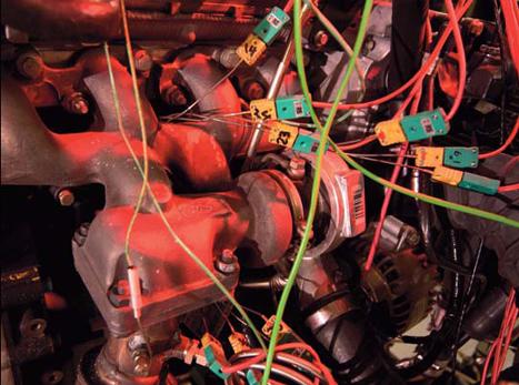Mockup:instrumented turbocharger
