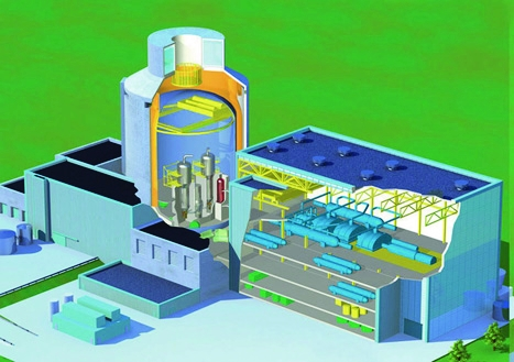 One of the two candidates for new nuclear build in the UK, the Westinghouse AP1000 is designed with passive safety systems