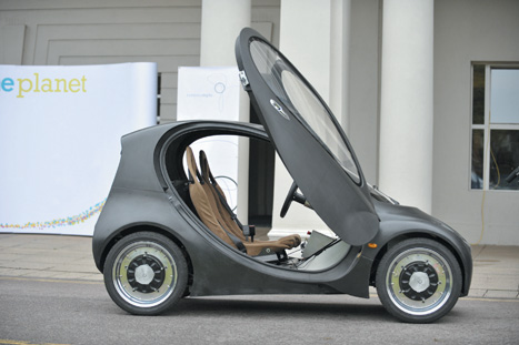 Innovation:Riversimple's hydrogen fuelcell vehicle was designed from scratch
