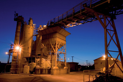 Set in stone:cement works are a major CO2 source