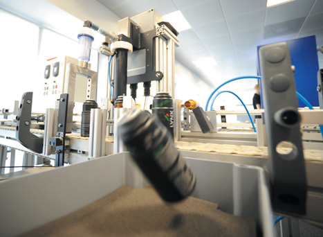 The CT2210 can detect leaks at a rate of 500 cans per minute