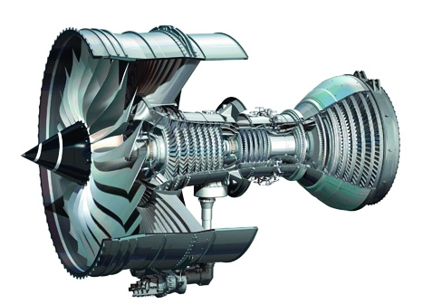 Engine: the main fan for the Rolls-Royce Trent XWB is 3m across, and it also incorporates one-piece bladed discs