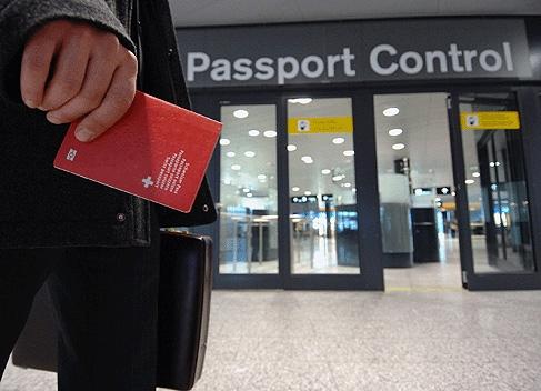 TE Passport control