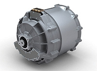 A derivative of Zytek's production 70kW 300Nm E-Drive will be installed in the transmission tunnel with just three additional connections.