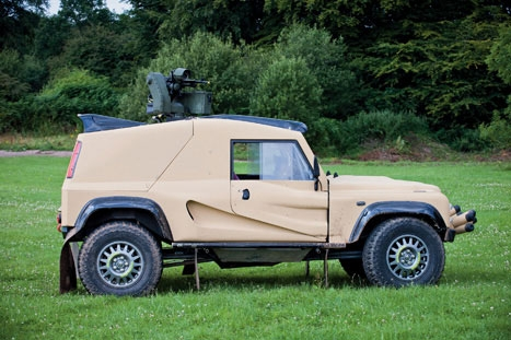 Fast work: the vehicle could aid tasks such as border control or rapid intervention