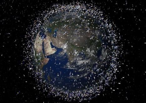 Space debris is a growing problem