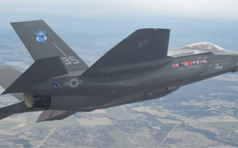 Reaching new heights: Wilson is currently a manufacturing engineer on the F-35 Lightning II programme