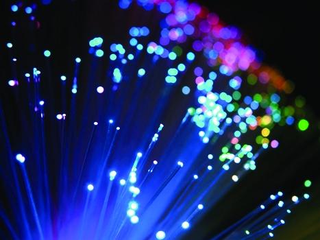 12 fibre optics lights