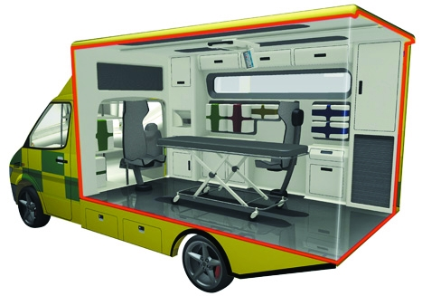 26 27 ambulance cutaway