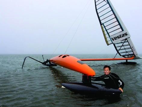 Vestas SailRocket II with pilot Paul Larson