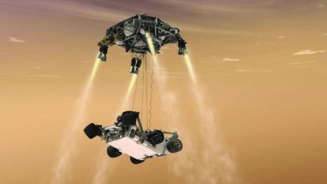 planetary exploration skycrane discovery