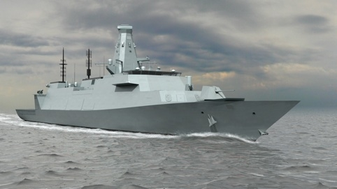 MOD UNVEILS ROYAL NAVY'S FUTURE WARSHIPS