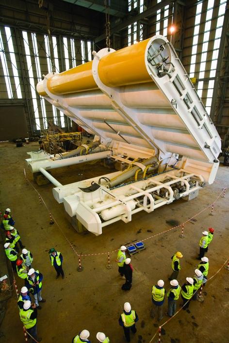 Aquamarine Power's Oyster wave energy device