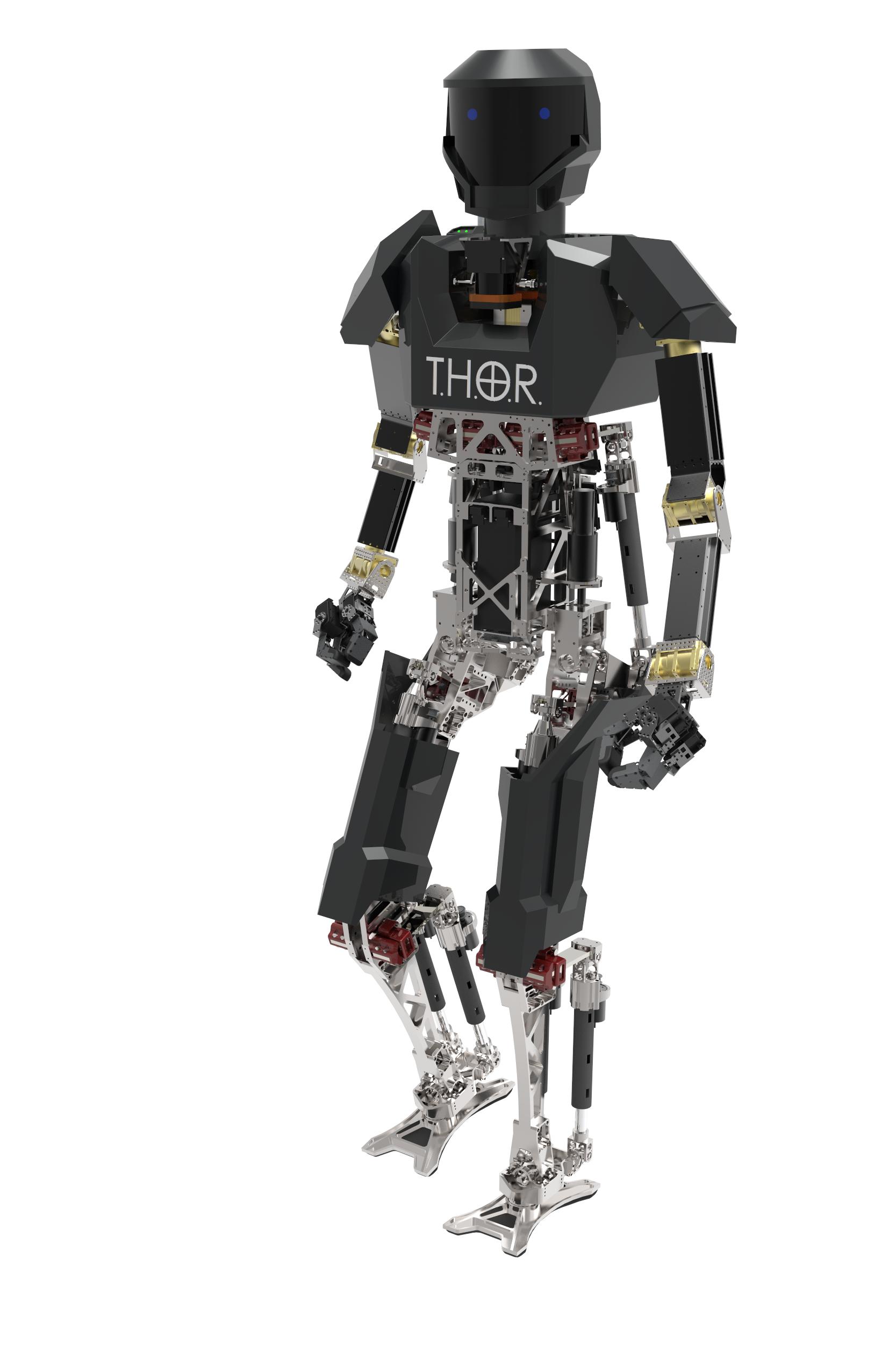Virginia Tech's THOR robot