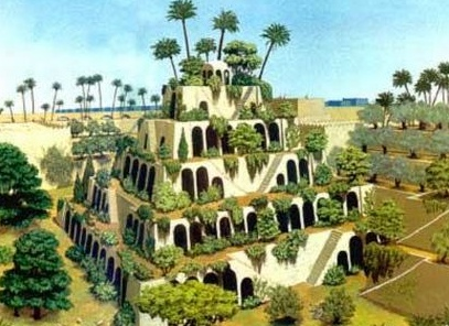 Hanging gardens of Babylon: the world's first vertical farm?