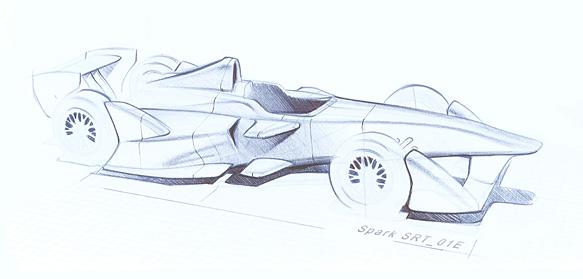 Dallara Formula E motorsport