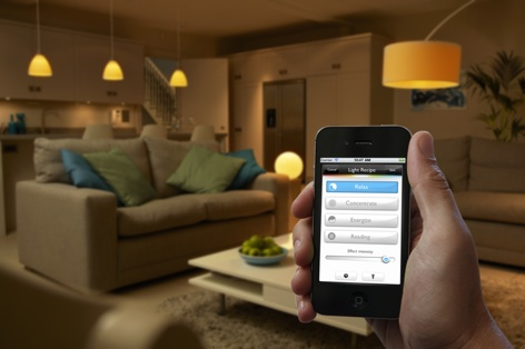 home automation lighting iphone hue philips