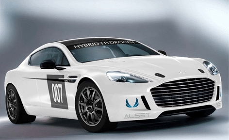 Aston Martin's Rapide S Hydrogen racer