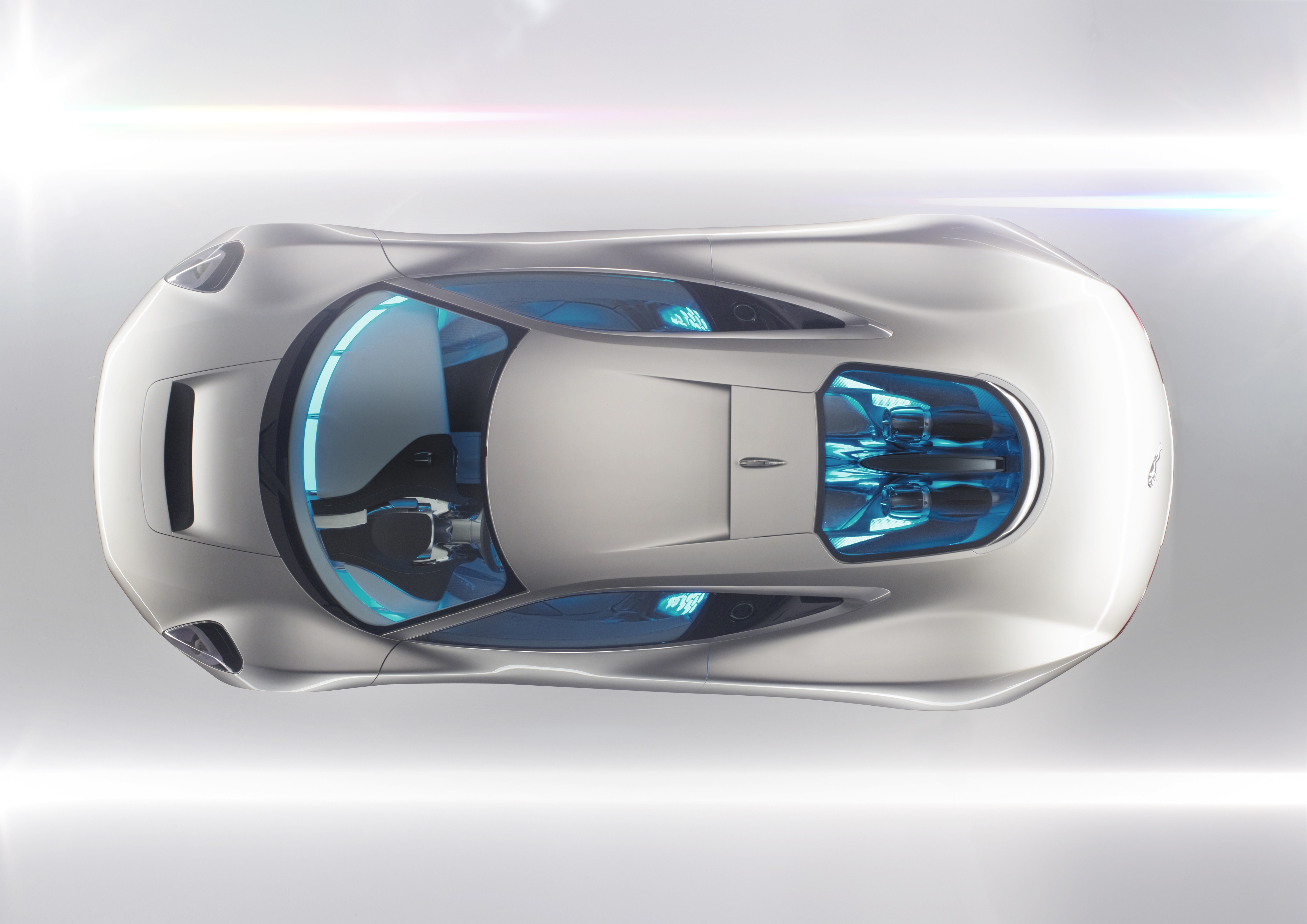 The C-X75 concept car features a gas-turbine developed by Bladon Jets